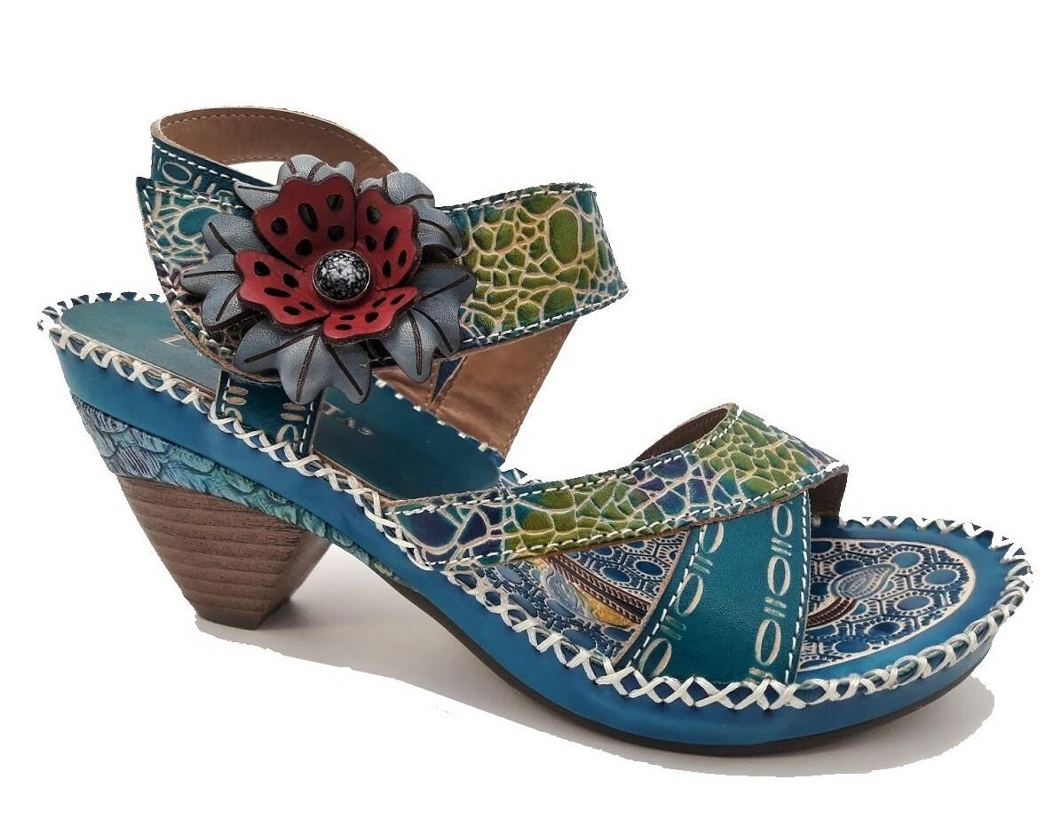 Laura Vita sandaalit Becigneto turkoosi