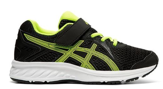 Asics lenkkarit / Jolt 2 PS, Black/Safety Yellow