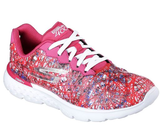 Skechers Go Run 400 / Pink Multicolor