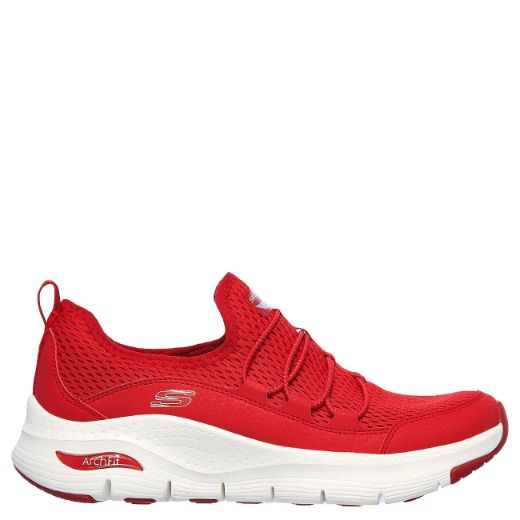 Skechers mukavuusjalkineet - Arch Fit, Lucky Toughts (149056_RED)
